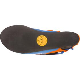 La Sportiva Stickit Kletterschuhe Kinder lily orange/marine blue